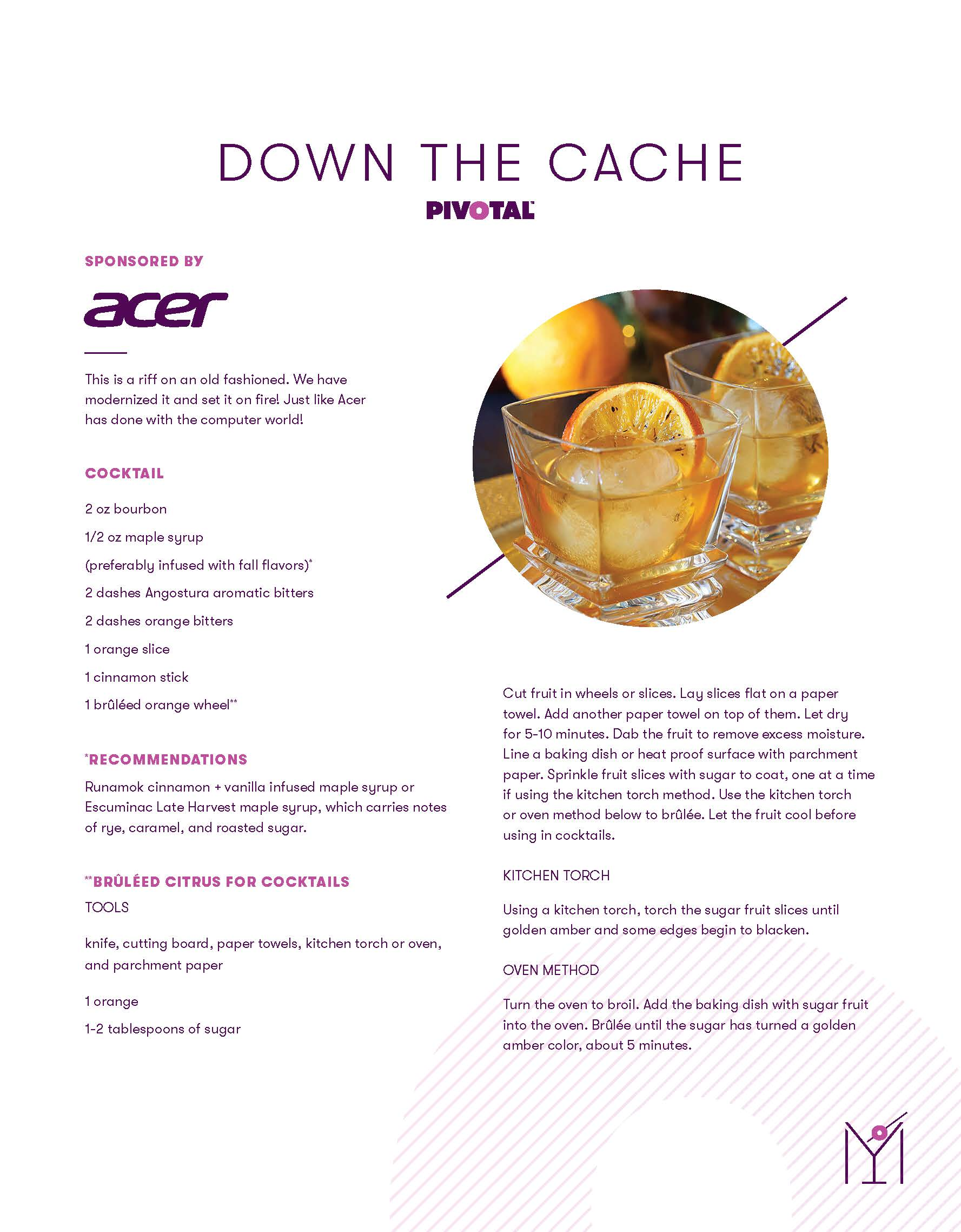 Acer Drink Recipe