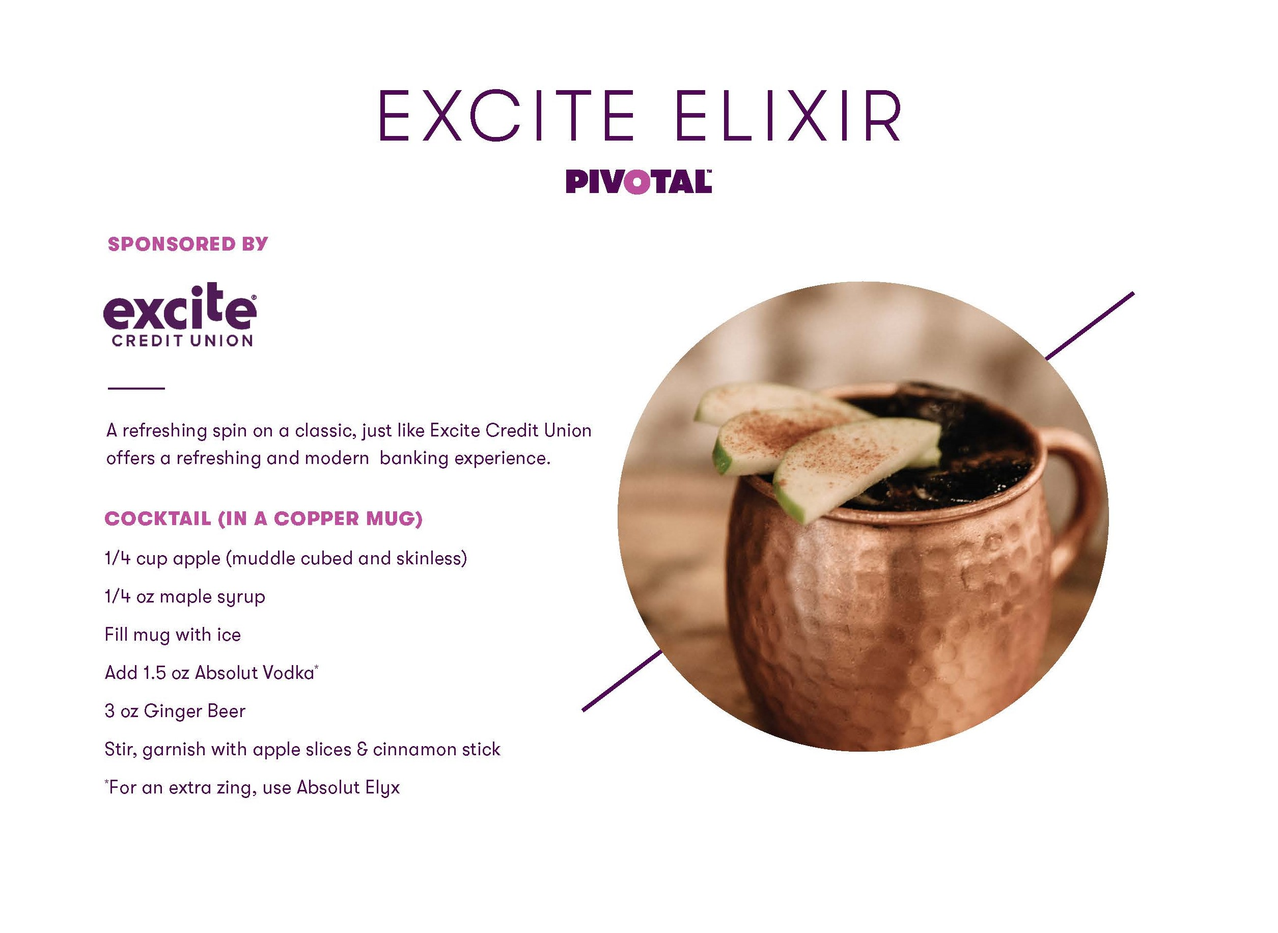 Excite Drink Recipe