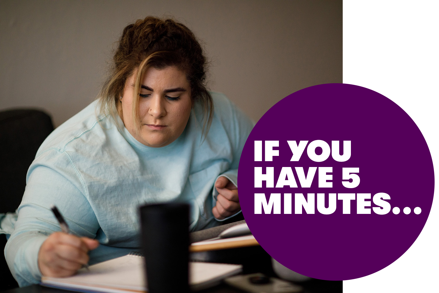 if you have 5 minutes