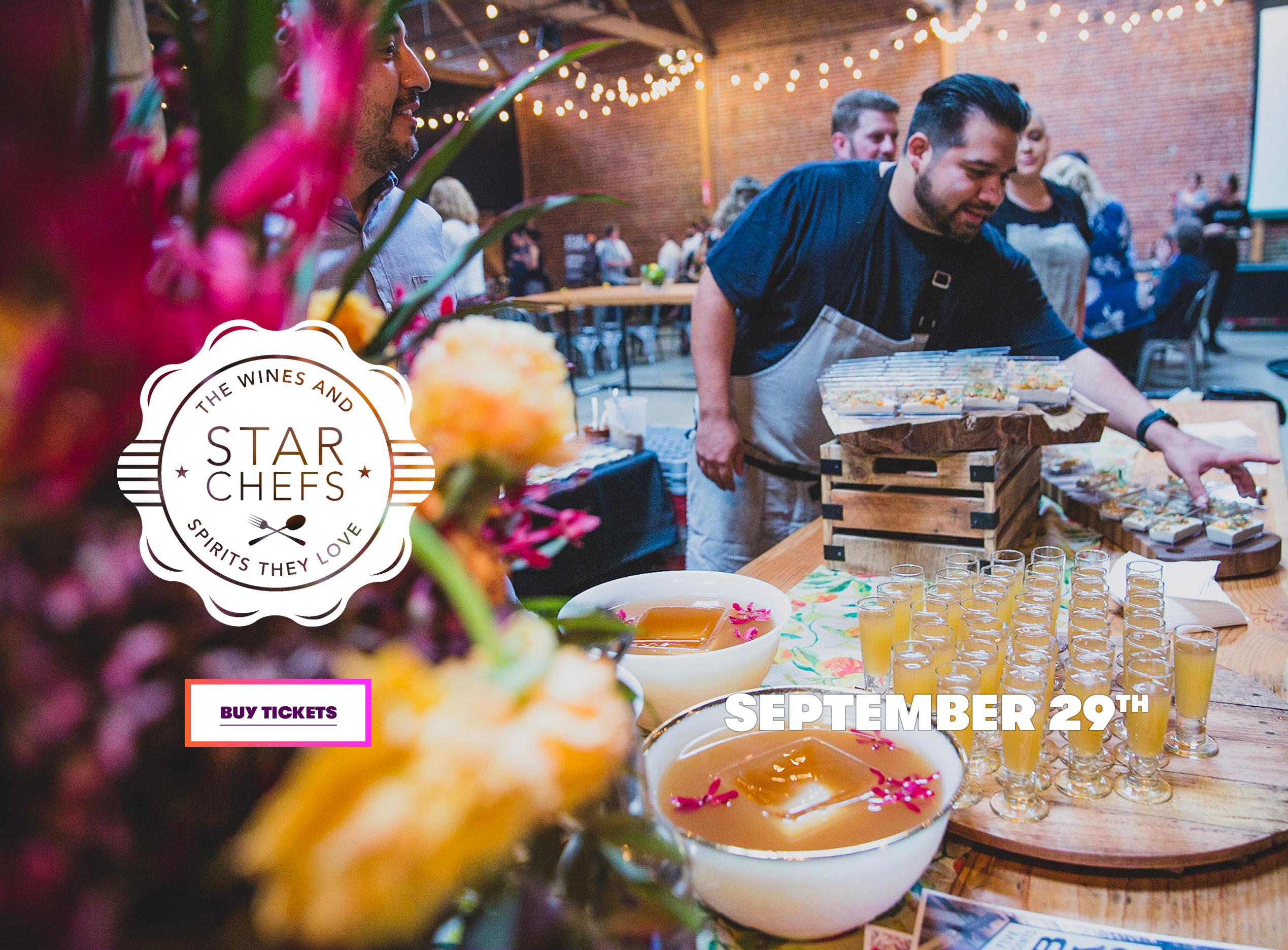Star Chefs Pivotal Foster Kids Event San Jose